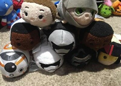 Star Wars Force Awakens Tsum Full Set BNWT Collectable Disney
