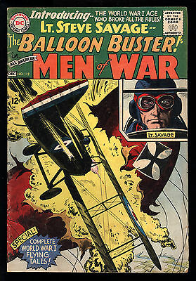 All American Men Of War (1952) #112 1st print 1st App Balloon Buster Heath VG-