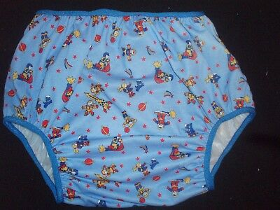 Adult Baby Children At Play   Soft Vinyl Pants   36/40