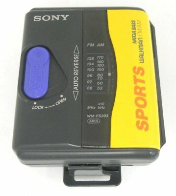 Sony WM-FS393 Sports Walkman with AM/FM Tuner (WM-FS393/HT)