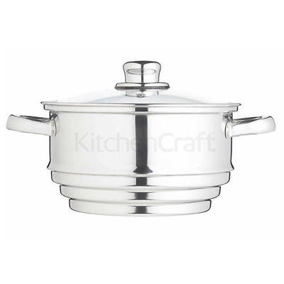 Kitchen Craft Stainless Steel Universal Steamer