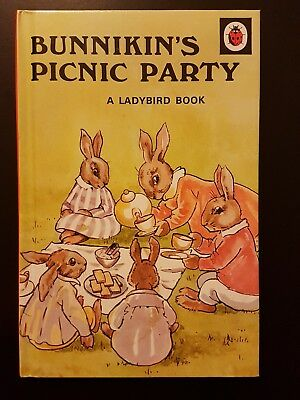 Rare early Ladybird book: Bunnikins Picnic Party
