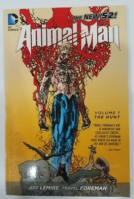 Animal Man - THE HUNT Vol 1 - The New 52 - DC - Graphic Novel TPB