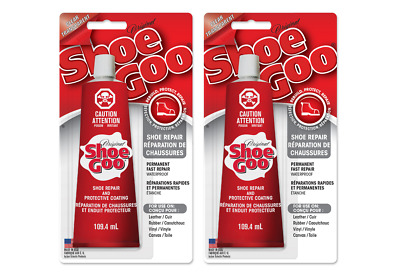 SHOE GOO Clear Transparent 60ml - 2x 30ml Tube / Schuhkleber Skating Modellbau