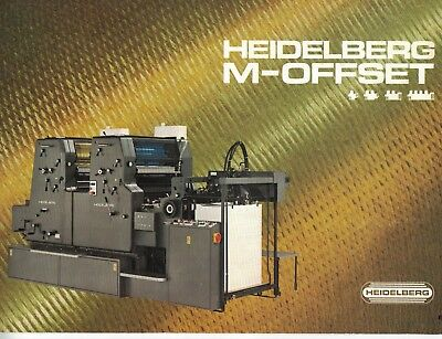 Heidelberg M Series Sales Brochure