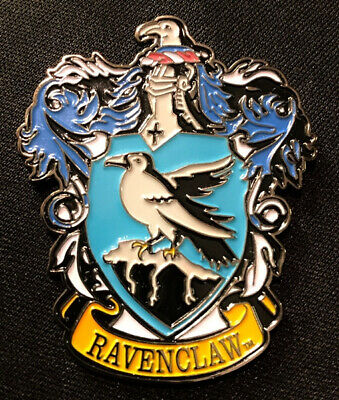 Harry Potter House of Ravenclaw Crest Logo Large Enamel Metal Pin NEW UNUSED