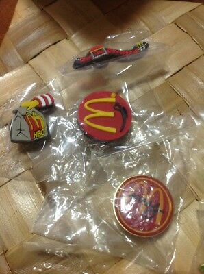 MaDonalds Crew Pin 25 In Lot Sealed New