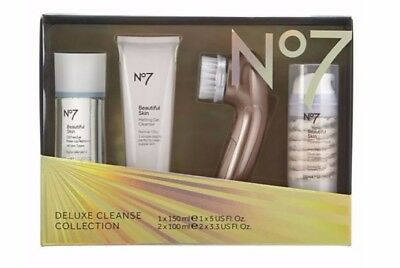 No7 DELUXE CLEANSE COLLECTION CHRISTMAS GIFT SET 2017