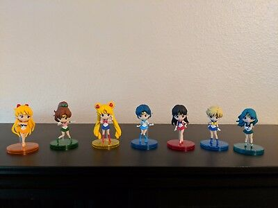 Sailor Moon Authentic Banpresto Q Posket Petit 7 Figure Lot Japan
