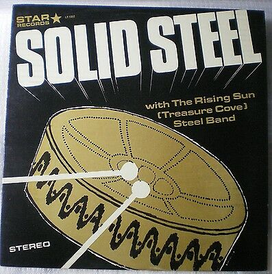 Vinyl LP 1002 -  Solid Steel - With The Rising Sun (Treasure Cove) Steel Band