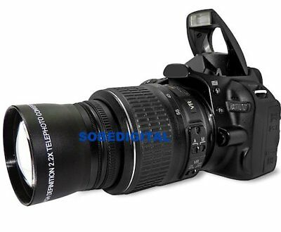 XIT Photo® SPORTS TELEPHOTO ZOOM LENS FOR NIKON D3000 D3100 52MM THREAD