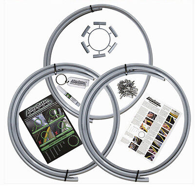 """AlloyGator Wheel Rim Protection Protector Single 1Fits 13"""" to 21"""" Rims Sliver"""