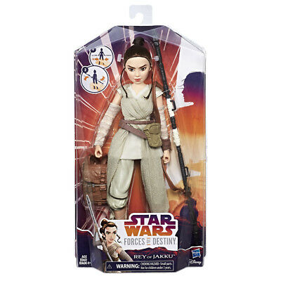 Star Wars Forces Of Destiny Rey Of Jakku Adventure Figure - NEW