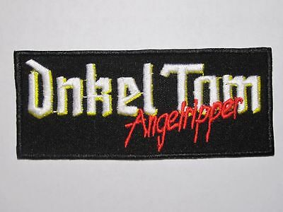 ONKEL TOM Angelripper Sodom embroidered logo NEW patch thrash metal