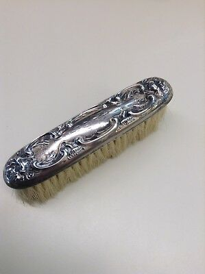 Antique Sterling Silver Vanity Clothes Brush