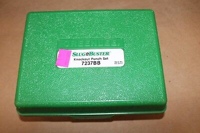 AUCTION! Greenlee Slug Buster Knockout Punch Tool 7237BB