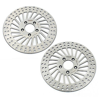 2pcs Front Brake Rotor for Harley XL 883 1200 R Sportster Dyna Touring 1450