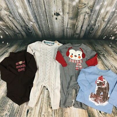 Baby Boy Winter Clothes Bundle 3-6 Months
