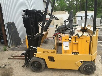 Hyster electric fork lift 4k lb