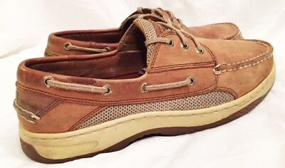 Boat Shoes Mens Size 10 Wide Sperry Top-Sider Boat Shoes Sperry Mako 2 Eye Shoes