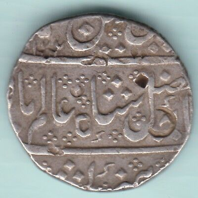 French India - Arkot Mint - One Rupee - Extremely Rare Coin