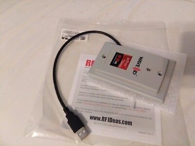 New Rfideas Pcprox Usb Rfid Reader Rdr-805W1Agu-Ra Grey Wallmount Automation