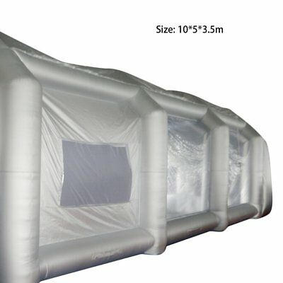 10mx5mx3.5m/7m*5m*3m Portable Inflatable Oxford Cloth Car Spray Booth Paint LN