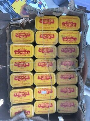 100 Empty Murray's Erinmore Flake Tins (You Can Buy A Few Or The Whole Lot)