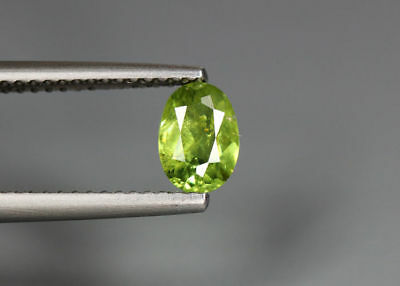 0.71 Cts_Stunning Very Rare Collection_100 % Natural Demantoid Garnet_Namibia