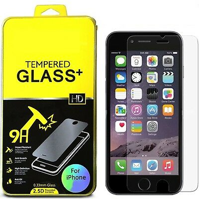 Wholesale 50pc Lot Apple iPhone 8+ Plus Premium Tempered Glass Screen Protectors