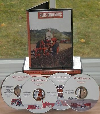 Allis Chalmers Promotional Film 4 disc DVD Set