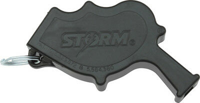 NIB All Weather Safety Whistle Storm Safety Whistle Knife 103 Black ca