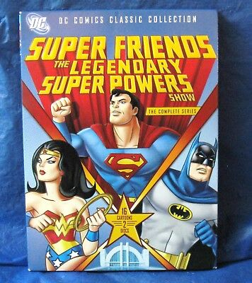 Super Friends: The Legendary Super Powers Show -Complete Series (DVD, 2-Disc)