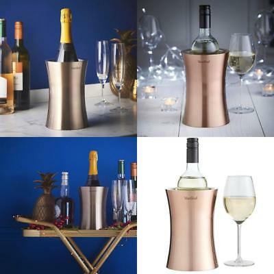 Copper Wine Cooler Double Walled Wine Stainless Steel Bottle Holder Kitchenware