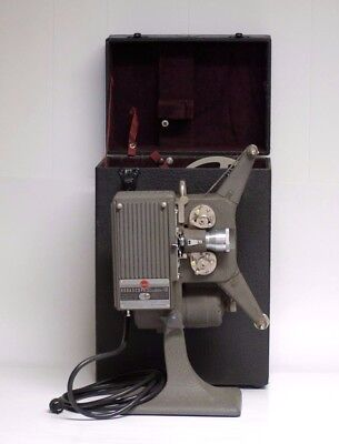 Kodascope Sixteen 10 Projector with Case - Vintage - Very Good Condition
