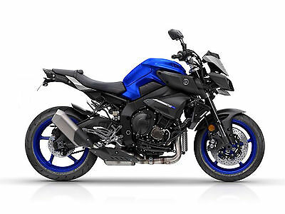 Yamaha MT 10 Tail Tidy 2016 on FZ 10 Fender Eliminator.