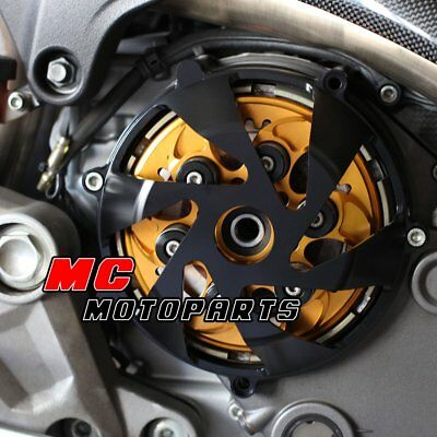 For Ducati Billet Dry Clutch Cover Black Supersport 900 750 1000 SS CC15