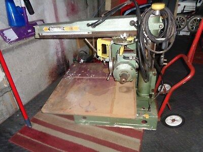 dewalt radial arm saw DW110 Used 240v