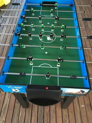 Soccer Table, detaches with pool table underneath.