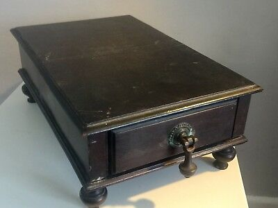 No Reserve Antique Victorian 2 Drawers Box