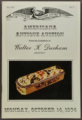 Antique American Folk Art & Country Americana - Durham Collection- 1974 Catalog