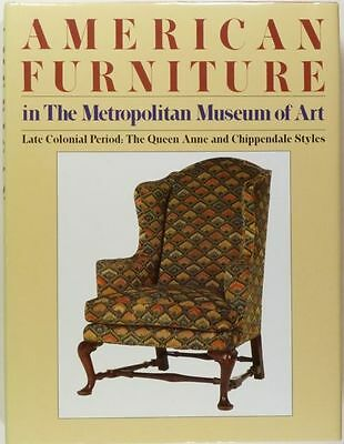 American Antique Colonial Queen Anne / Chippendale Furniture - Met Museum of Art