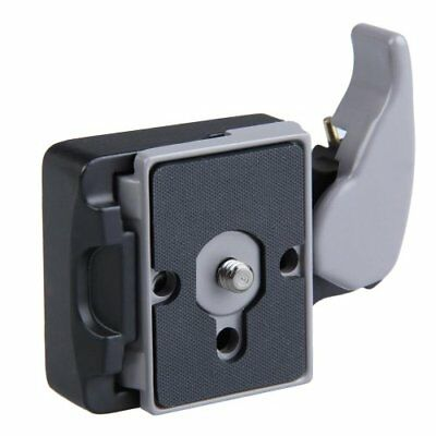 Vktech Black Camera 323 Quick Release Plate Quick Release Plate Mount NEW