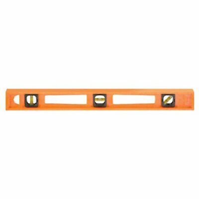 Johnson Level and Tool 7724-O 24-Inch GloOrange Structo Cast Level - 3 Vial
