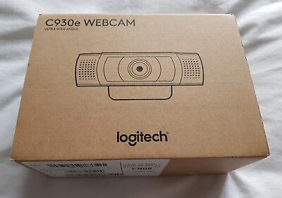 Logitech C930e Webcam HD Ultra Wide Angle