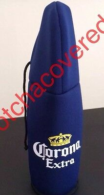 Corona  Beer Stubby Holders Hooded With Ties Ideal Christmas Gift