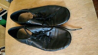 Girls' black jazz shoes American Ballet Theater Size 5
