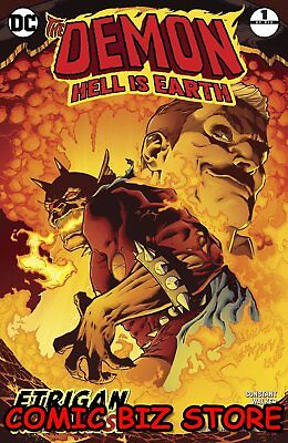 Demon Hell Is Earth #1 (Of 6) (2017) 1St Printing Dc Comics