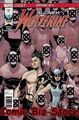 All New Wolverine #27 (2017) 1St Printing Bagged & Boarded Marvel Legacy Tie-In