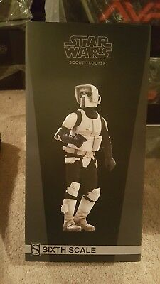 Sideshow Collectibles Star Wars Scout Trooper 1/6 scale figure